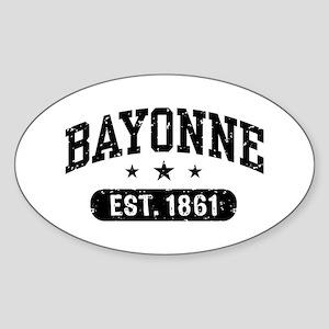 Bayonne Est. 1861 Sticker (Oval)