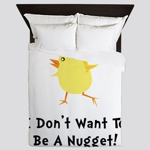 Chicken Nugget Queen Duvet