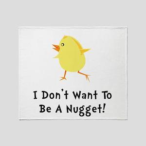 Chicken Nugget Throw Blanket
