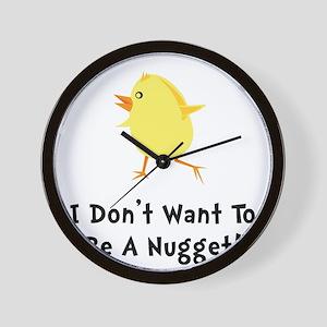 Chicken Nugget Wall Clock