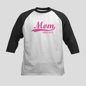 Mom since 2013 Kids Baseball Jersey
