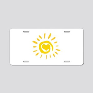 Sun Aluminum License Plate