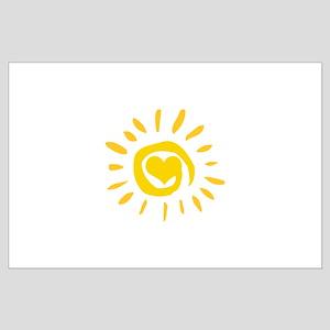 Sun Large Poster