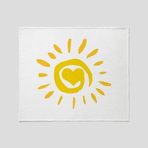 Sun Throw Blanket
