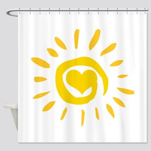 Sun Shower Curtain