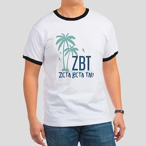 Zeta Beta Tau Palm Tree T-Shirt