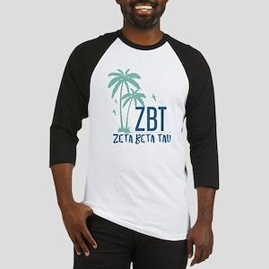 Zeta Beta Tau Palm Tree Baseball Jersey