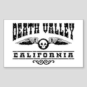 Death Valley California Sticker (Rectangle)