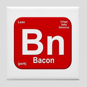 Bn (Bacon) Element Tile Coaster