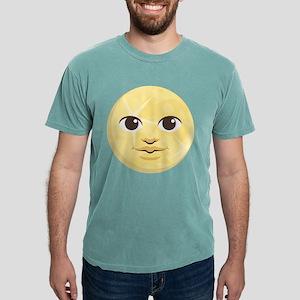 Yellow Moon Emoji Mens Comfort Colors Shirt