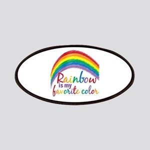Rainbow Favorite Color Patches