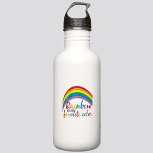 Rainbow Favorite Color Stainless Water Bottle 1.0L
