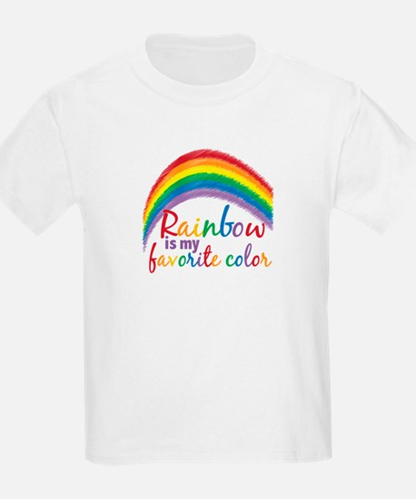 Rainbow Favorite Color T-Shirt