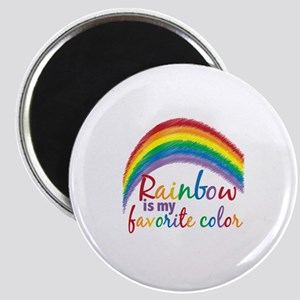 Rainbow Favorite Color Magnet