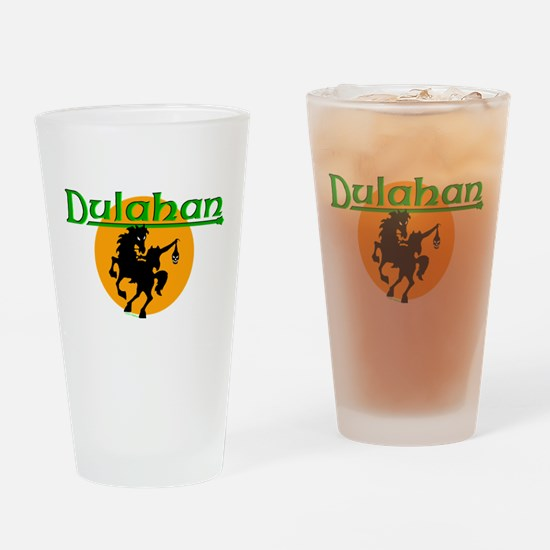 The Dulahan Drinking Glass