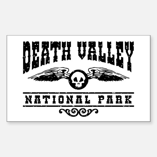 Death Valley National Park Sticker (Rectangle)