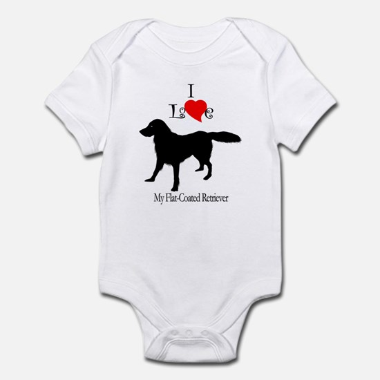 Flat Coated Retriever Infant Creeper