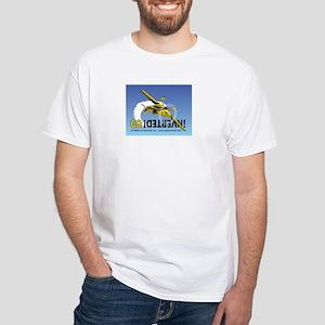 Go Inverted Monoplane Color White T-Shirt