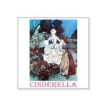 Cinderella Square Sticker 3