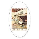 Cinderella Sticker (Oval 50 pk)