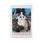 Cinderella Rectangle Magnet (100 pack)