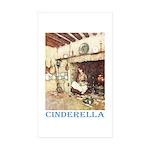 Cinderella Sticker (Rectangle 50 pk)