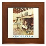 Cinderella Framed Tile