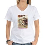 Cinderella Women's V-Neck T-Shirt