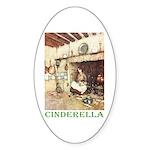 Cinderella Sticker (Oval 10 pk)