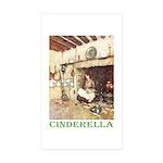 Cinderella Sticker (Rectangle 10 pk)