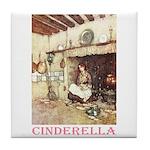 Cinderella Tile Coaster