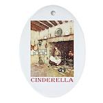 Cinderella Ornament (Oval)