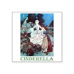 Cinderella Square Sticker 3