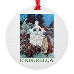 Cinderella Round Ornament