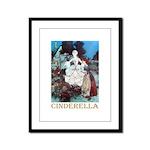 Cinderella Framed Panel Print