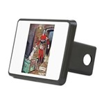 The Soldier and The Dog Rectangular Hitch Cover