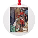 The Soldier and The Dog Round Ornament