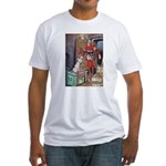 The Soldier and The Dog Fitted T-Shirt
