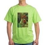 The Soldier and The Dog Green T-Shirt