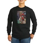 The Soldier and The Dog Long Sleeve Dark T-Shirt