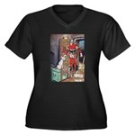 The Soldier and The Dog Women's Plus Size V-Neck D
