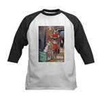 The Soldier and The Dog Kids Baseball Jersey