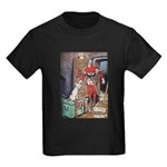 The Soldier and The Dog Kids Dark T-Shirt