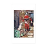 The Soldier and The Dog Sticker (Rectangle 50 pk)