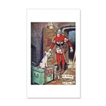 The Soldier and The Dog 35x21 Wall Decal