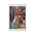 The Soldier and The Dog Rectangle Magnet (10 pack)