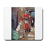 The Soldier and The Dog Mousepad