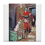 The Soldier and The Dog Tile Coaster
