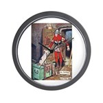 The Soldier and The Dog Wall Clock