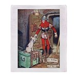 The Soldier and The Dog Throw Blanket